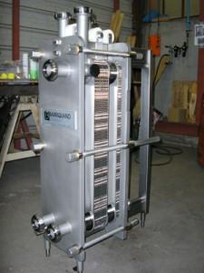 échangeur de chaleur à plaques et joints barriquand