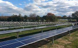 La plus grande centrale photovoltaïque de France bientôt en service