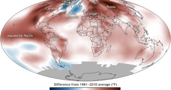 Les choses ne vont pas bien du côté du climat