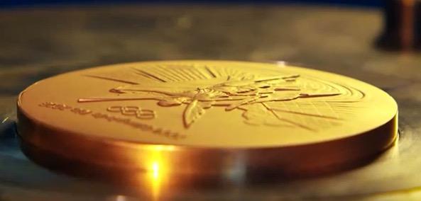 Comment sont faites les médailles d'or de Rio ?