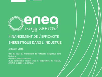 Nouvelle étude de l'Ademe sur le financement de l'efficacité industrielle