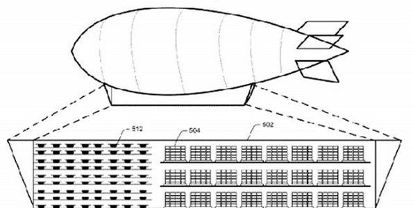 Amazon : vers des entrepôts volants ?