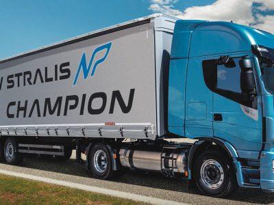 Iveco distribue son premier véhicule lourd GNL