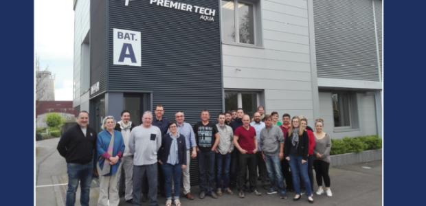 Retour sur le séminaire annuel des Partenaires de service Premier Tech Aqua France