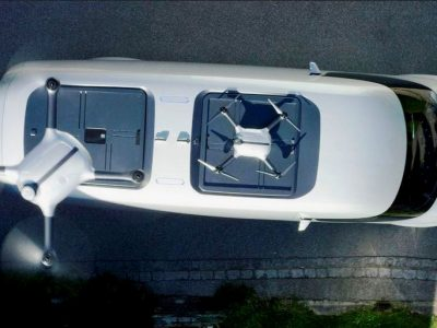 Mercedes-Benz va tester des drones de livraisons
