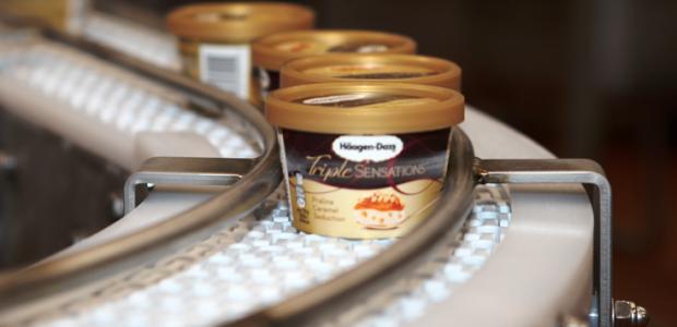 General Mills ouvre sa quatorzième ligne de production de glaces Häagen-Dazs à Arras