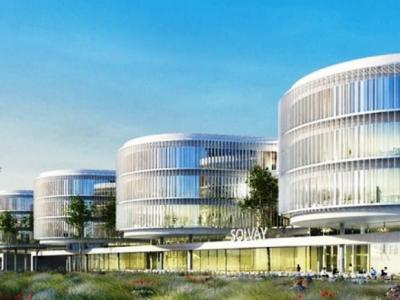 Lyon : Solvay va construire un centre de recherches de plus de 100 millions d'euros
