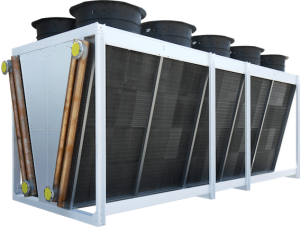 Aéroréfrigérant avec batteries en V Friga-Bohn - V-KING