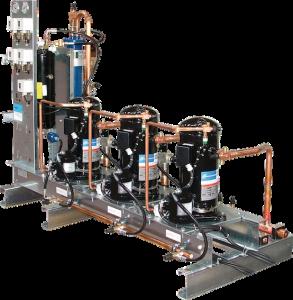 Centrale de compression à pistons semi-hermétiques scroll Friga-Bohn - COMPACT
