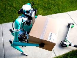 Un robot humanoïde livrera bientôt vos colis