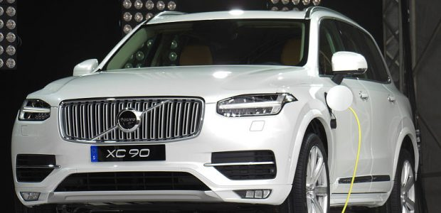 Inauguration de l'usine de batteries de Volvo