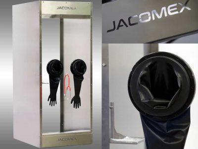 COVID-19 – L'entreprise française Jacomex a réalisé une cabine de test