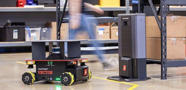 Les usines sont de plus en plus séduites par les robots mobiles autonomes